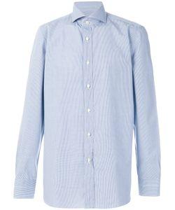 BORRELLI | Micro Check Shirt Men 44