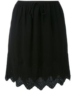 Iro | Embroidered Hem Skirt 36