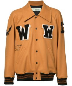 OFF-WHITE | Patched Varsity Jacket Size Medium