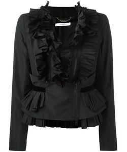 Givenchy | Frill Zip-Up Blouse 40 Polyester/Viscose