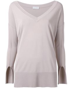 SCANLAN THEODORE | Deep V-Neck Jumper S/M Viscose
