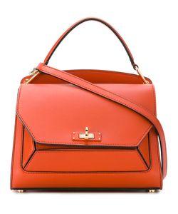 Bally | Lock Front Shoulder Bag Calf Leather