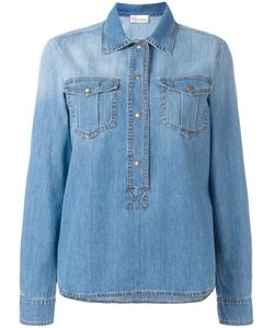 Red Valentino   Boxy Fitting Colla Shirt 44 Cotton/Polyester