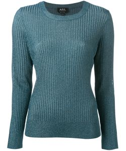 A.P.C.   A.P.C. Fitted Crewneck Sweater Size Small
