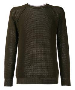 Roberto Collina   Perforated Detail Sweatshirt Size 52