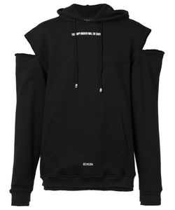 Icosae | Cut-Out Shoulders Hoody Medium Cotton