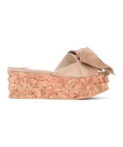 Paloma Barceló   Bow Front Sandals