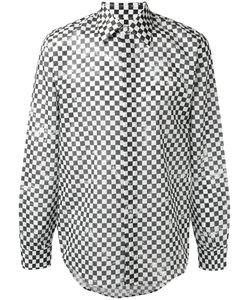 Marc Jacobs | Distressed Check Print Shirt 52 Cotton