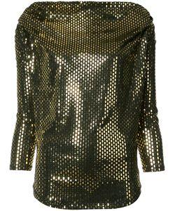 Vivienne Westwood Anglomania | Amber Blouse Large Polyurethane/Spandex/Elastane/Viscose