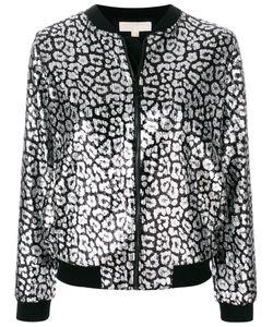 Michael Michael Kors | Куртка-Бомбер С Леопардовым Принтом