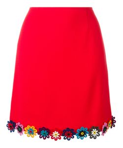 Mary Katrantzou | Clovis Skirt 8 Wool/Silk/Cotton