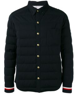 Moncler Gamme Bleu | Striped Cuffs Down Jacket 2