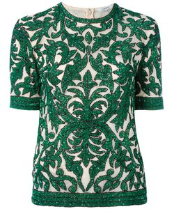 Ganni | Embroidered Top Size 34