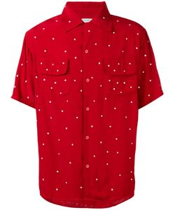 HTC Hollywood Trading Company | Dot Print Shirt Size Large