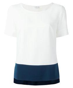 Akris | Bicolour T-Shirt 38 Viscose/Acetate/Polyester/Polyurethane
