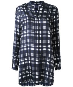 Joseph | Checked Long Shirt 42 Silk
