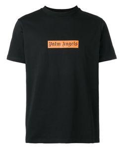 PALM ANGELS | Logo Print Boxy T-Shirt Large Cotton