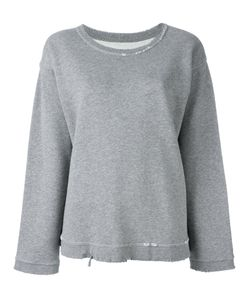 RTA | Destroyed Effect Sweatshirt Small Cotton/Polyester