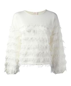 See By Chloe | Fringed Long Sleeved Top