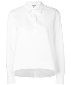 Semicouture | Curved Hem Shirt Size 40