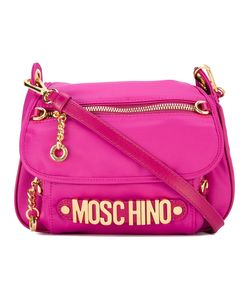 Moschino | Cross-Body Logo Plaque Bag