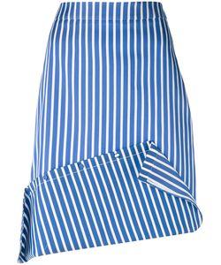 Ports | 1961 Striped Asymmetric Skirt