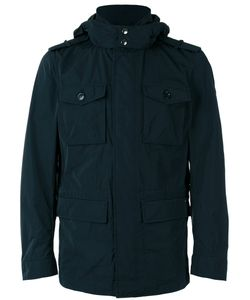 Woolrich | Hooded Coat Large Polyester