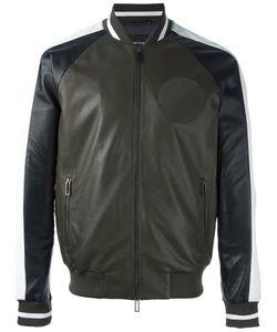 Emporio Armani | Contrast Zip Up Bomber Jacket Xl