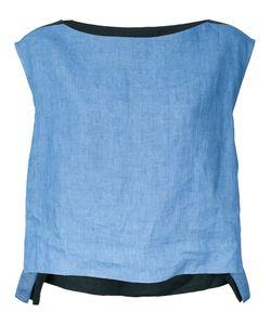 DEMOO PARKCHOONMOO | Colour Block Blouse 36 Linen/Flax