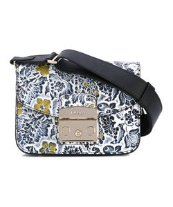 Furla   Embroidered Shoulder Bag