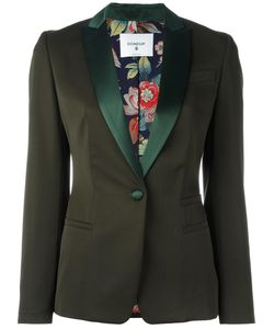 Dondup | Welt Pockets Blazer 44 Virgin Wool/Polyester/Silk