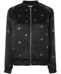 Zoe Karssen   Star Stud Bomber Jacket Xs Polyester/Spandex/Elastane