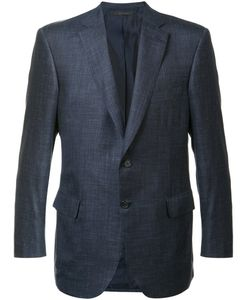 Brioni | Two Button Blazer 56 Silk/Linen/Flax/Cashmere