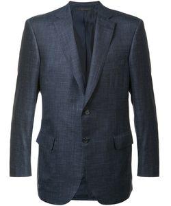 Brioni | Two Button Blazer 56 Silk/Linen/Flax/Cashmere