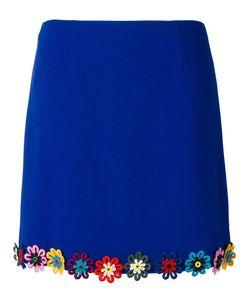 Mary Katrantzou | Clovis Skirt 12 Wool/Silk/Cotton