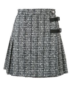 Alexander McQueen | A-Line Mini Skirt 38 Cotton/Wool/Polyimide/Viscose