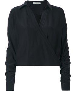 MARTHA MEDEIROS | Wrap Andrea Shirt Size 44