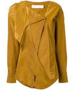 Victoria Beckham   Рубашка С Запахом И Завязками