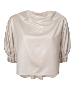 08SIRCUS | Structu Sleeve Blouse 36 Polyester