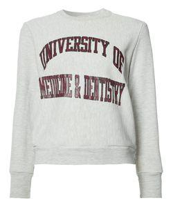 Re/Done | University Of Medicine Dentistry Sweatshirt Xs/S