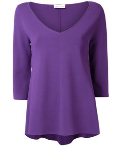 SCANLAN THEODORE | Micro Crepe Trapeze Sweater Medium/Large Viscose