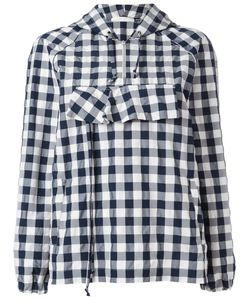 Peter Jensen | Gingham Anorak Jacket Small Cotton/Polyamide