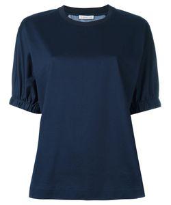 Moncler   Contrast Print Top Medium Cotton/Silk