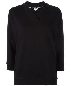 Kenzo | Logo Print Sweatshirt Small Cotton