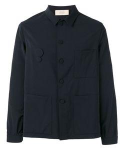 MAISON FLANEUR | Classic Shirt 52 Spandex/Elastane/Viscose/Virgin Wool