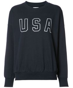 ANINE BING | Usa Sweatshirt Small Cotton/Polyester
