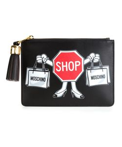 Moschino | Клатч С Принтом Shop
