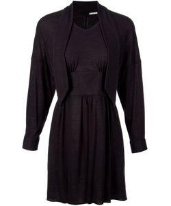 AKANE UTSUNOMIYA | Tied Neck Knit Dress