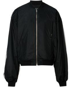 DRESSEDUNDRESSED | Sheer Overlay Bomber Jacket