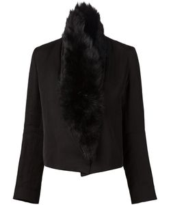 Ann Demeulemeester | Куртка С Отделкой Из Овчины